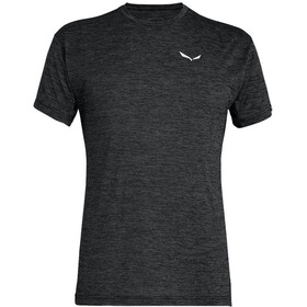 SALEWA Puez Melange Dry T-shirt Homme, black out melange